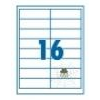 SilverBall SilverBall etikett címke 99,1x33,9 mm 16 címke/lap (100 lap/doboz)
