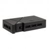 Silverstone SST-LSB01 RGB-LED-Hub + 2x LED szalag - fekete