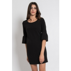 Silvian Heach Collection , Triscatela harangujjú ruha, Fekete, L (PGP18393VE-BLACK-L)