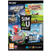 SimActive SIM4U Bundle 1 - European Ship Simulator, Farming World, Post Master, Police Simulator 2 (PC) játékszoftver