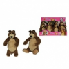 Simba játékok Mása és a medve - Misa plüss mackó 25 cm