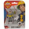 Simba Sam, a tűzoltó: Elvis és Wolly figurák