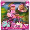 Simba Toys Steffi Love: Évi kiránduló baba biciklivel - Simba Toys