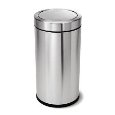 SimpleHuman Billenős szemetes, rozsdamentes acél, 55 l, SIMPLEHUMAN, ezüst takarító és háztartási eszköz