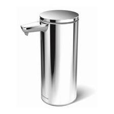 SimpleHuman Érintés nélküli szappanadagoló, csiszolt rozsdamentes acél szappan