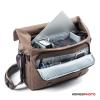 """SIRUI fotó táska MyStory 15"""" Laptop tartóval, mokka"""
