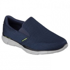 Skechers Equalizer Double Play férfi sportcipő, Navy, 41.5 (51509-NVY-41.5)