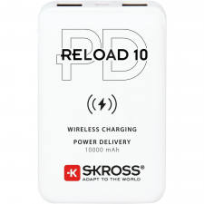 Skross Reload10 10Ah power bank USB/ wireless töltéssel power bank