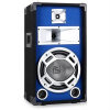 Skytec PA hangfal, 25 cm (10) subwoofer, kék LED effekt