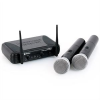 Skytec STWM712 VHF-Funkmikrofon-Set 2 Kanäle Handsets