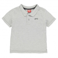 Slazenger gyerek póló - Plain Polo Shirt Infant Grey