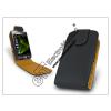 Sligo bőrtok - Samsung i8000 Omnia II - fekete