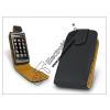 Sligo bőrtok - Samsung S5620 Monte - fekete