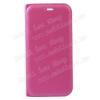 SLIM DESIGN notesz / flip tok - MAGENTA - oldalra nyíló flip cover, bankkártya tartó zseb - HUAWEI P10