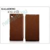 Slim Slim Flexi Flip bőrtok - Alcatel One Touch Pop C9 (7047D) - fekete
