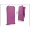 Slim Slim Flexi Flip bőrtok - Samsung SM-A500F Galaxy A5 - lila