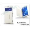 Slim Slim Flexi Flip bőrtok - Samsung SM-G900 Galaxy S5 - fehér