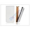 Slim Slim Flip bőrtok - Apple iPhone 5/5S - fehér