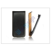 Slim Slim Flip bőrtok - Samsung i8580 Galaxy Core Advance - fekete