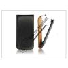 Slim Slim Flip bőrtok - Samsung S5380 Wave Y - fekete