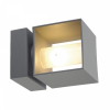 SLV 1000335 SQUARE TURN kültéri fali lámpa 1xG9 max.42W
