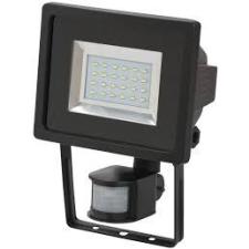 SMD-LED lampa L DN 2405 PIR IP44 infravörös mozgásérzékelovel 24x0,5W 950lm fekete Energiahatékonysági osztály A elemlámpa