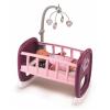 Smoby Baby Nurse: bölcső kiságyforgóval - rózsaszín