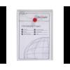 Snopake Clear irattasak álló, patentos, A6