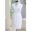Soft Cotton DURU női kapucnis fürdőköpeny L Fehér / White
