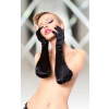 Softline Satin Gloves 7702 black/ SL