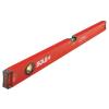 Sola BIG X 60 alumínium vízmérték piros X-profil 600mm