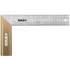 Sola SRB 300 rozsdamentes alu asztalos derékszög 300x145mm