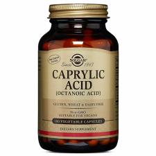 SOLGAR Caprylic Acid 360mg 100v kapszula vitamin és táplálékkiegészítő