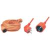 SOMOGYI AUDIO LINE Hálózati hosszabbító 20 m narancs NV 2-20/O
