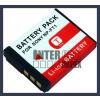 Sony Cyber-shot DSC-T10 3.6V 1000mAh utángyártott Lithium-Ion kamera/fényképezőgép akku/akkumulátor