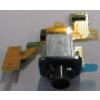 Sony D5503 Xperia Z1 Compact headsetcsatlakozós átvezető fólia*