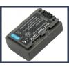 Sony DCR-DVD205E 7.2V 650mAh utángyártott Lithium-Ion kamera/fényképezőgép akku/akkumulátor