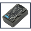 Sony DCR-DVD705 7.2V 650mAh utángyártott Lithium-Ion kamera/fényképezőgép akku/akkumulátor