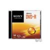 Sony DMR47SS DVD-R 4.7 GB 16x slim tok lemez