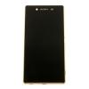Sony Előlap, lcd kijelző és érintőpanel Sony E6553 Xperia Z3 Plus, Xperia Z4 rézszínű
