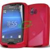 Sony-Ericsson Sony Ericsson ST15 Xperia Mini piros szilikon tok