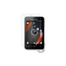 Sony Ericsson ST17 Xperia Active kijelző védőfólia mobiltelefon előlap