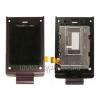 Sony Ericsson W380 lcd kijelző lila előlappal (swap)