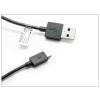 Sony gyári micro USB adat- és töltőkábel 100 cm-es vezetékkel - UCB11 black (ECO csomagolás)