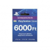 Sony PlayStation 4 Live Card 6 000 FT (PS719896333)
