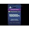 Sony PlayStation Network 15000 Ft feltöltõkártya