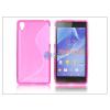 Sony Sony Xperia Z2 szilikon hátlap - S-Line - pink