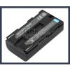 Sony UCV20 7.2V 2000mAh utángyártott Lithium-Ion kamera/fényképezőgép akku/akkumulátor