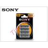 Sony Ultra Carbon Zinc AA ceruza elem - 4 db/csomag