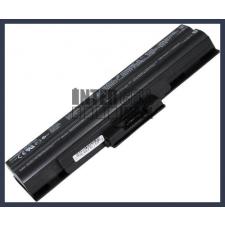 Sony VAIO VGN-BZ13VN 4400 mAh 6 cella fekete notebook/laptop akku/akkumulátor utángyártott sony notebook akkumulátor